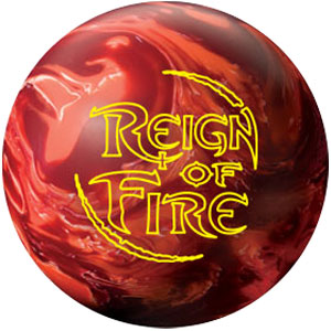 Reign of Fire Bowling Ball